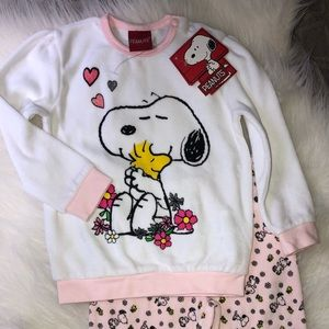Peanuts Matching Sets - Snoopy peanuts girls set NWT 18-24M